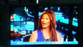 Lady interrupts PIX 11 news live in NY!