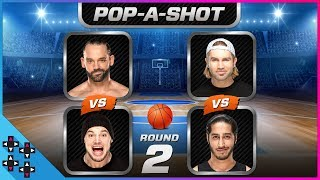 POP-A-SHOT ARCADE BASKETBALL TOURNAMENT #2: Corbin vs. Dillinger & Breeze vs. Ali