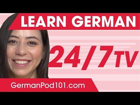 German Lesson (107) - The Top 100 German Verbs - A2