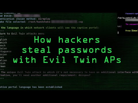 How Hackers Can Grab Your Passwords Over Wi-Fi with Evil Twin Attacks