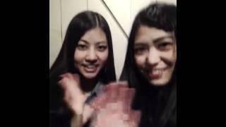 AKB48 TeamA 前田亜美(あーみん/まゆげ):撮影&投稿 AKB48 Team4 阿部マリア [元記事]