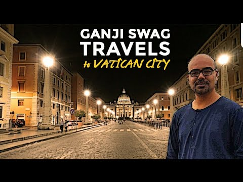 Ganjiswag Travels To Vatican City | Junaid Akram