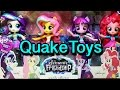 My Little Pony TRU Sparkle Collection Elements of Friendship Equestria GIrls Minis Set MLP QuakeToys