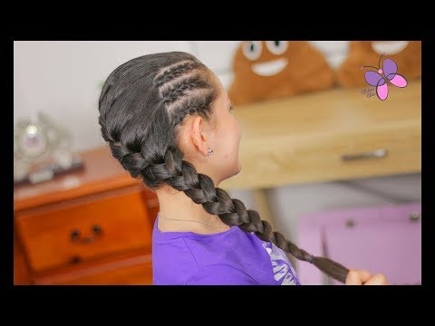 french-braids-hairstyle-|-braided-hairstyles-|-hairstyles-for-girls-|-chikaschiceng