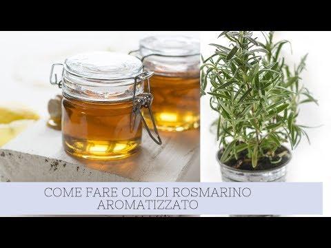 COME FARE# OLIO DI ROSMARINO AROMATIZZATO#