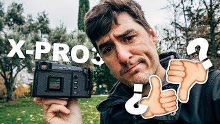 Fujifilm X-Pro3 ¿Quién necesita pantallas?