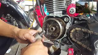 Gambar cover Cara Mengganti Rantai Kamprat/Keteng  Pada Motor Tiger