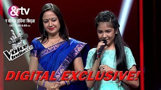 Shruti Goswami's Father Surprises Her On Stage | Moment | The Voice India Kids - Season 2