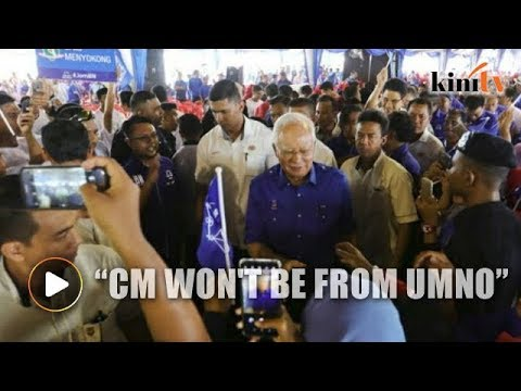 Najib: If BN captures Penang, chief minister won't be from Umno