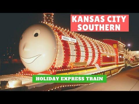 Kansas City Southern Holiday Express Train 2017