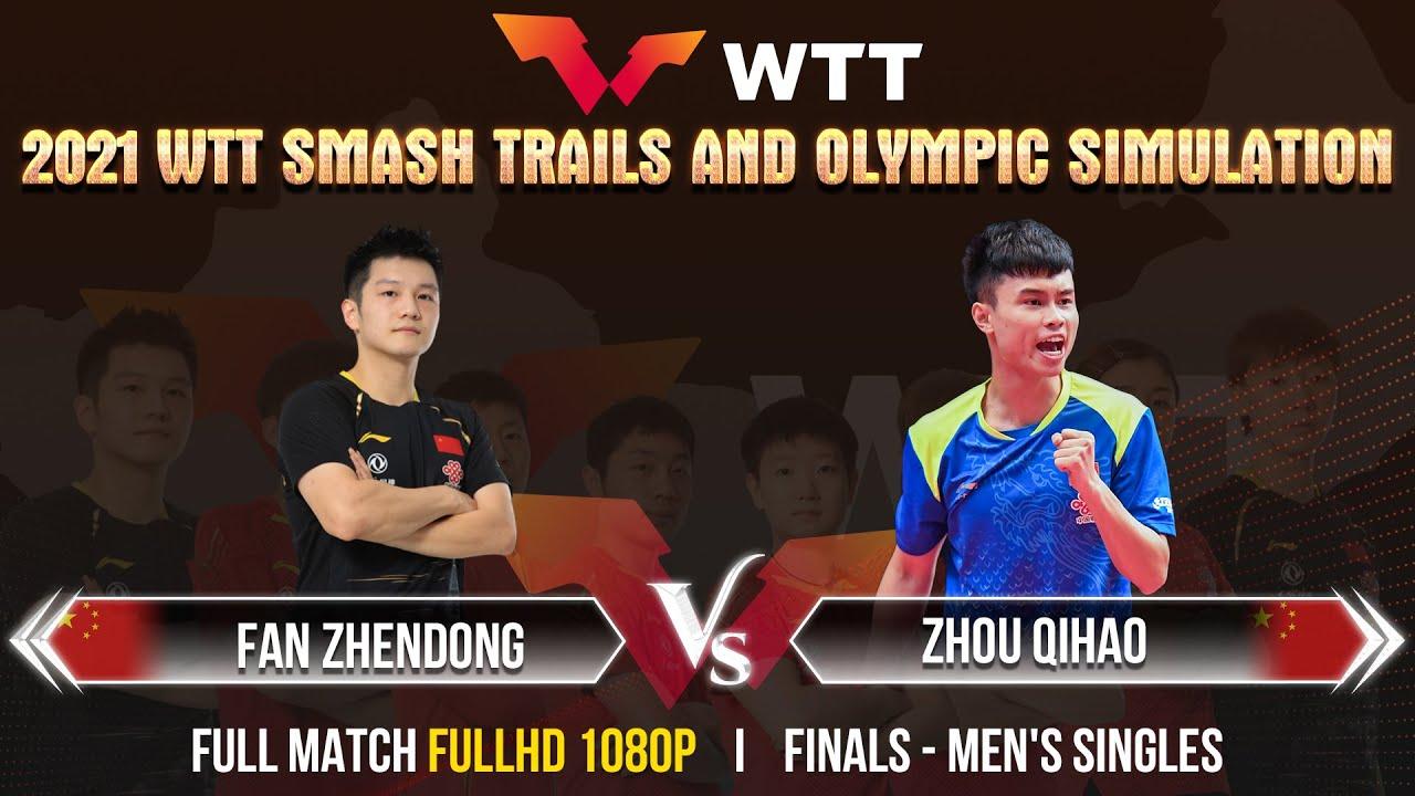Download FAN ZHENDONG vs ZHOU QIHAO | FINALS - MS | 2021 Chinese WTT Trials - FULL MATCH [1080P]