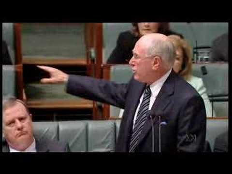 Kevin Rudd Vs. John Howard - Climate Change