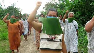 """""""Nous avons besoin d'aide"""" ! Le cri du cœur des indigènes d'Amazonie face à la c"""