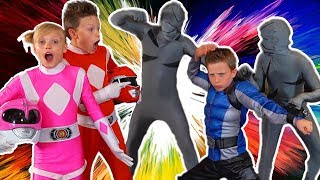 Paxton Gets Power Rangers Beast Morphers Toys!