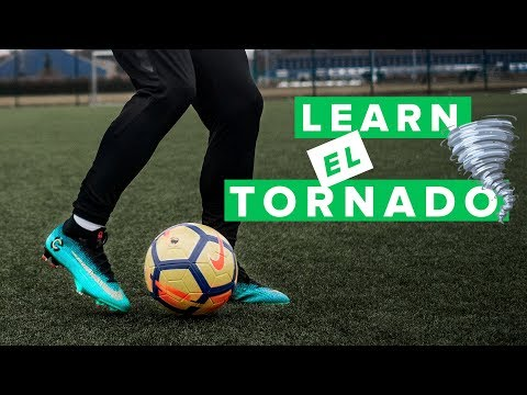 LEARN EL TORNADO - the famous CR7 football skill from FIFA 18