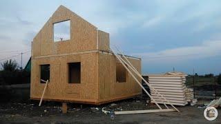 дом из сип панелей, отзыв владельца за 17 месяцев проживания