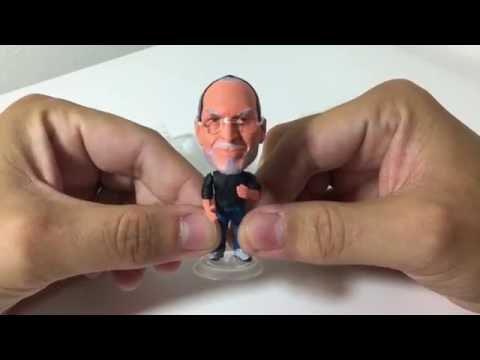 Unboxing Action Figure Steve Jobs Kodoto Aliexpress (PT-BR) HD