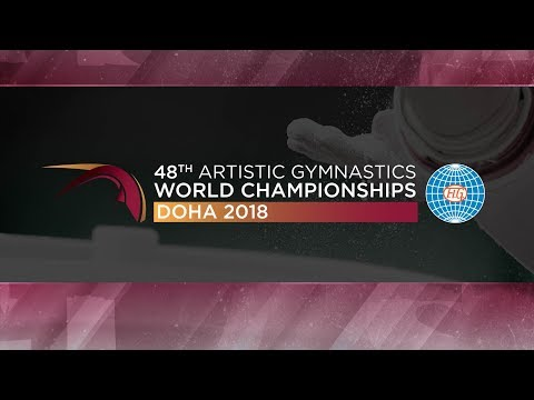 2018 Artistic World Championships - Women's Podium Training