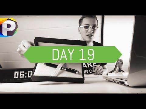 DAY 19 -  Positivstarter Routine - Nie wieder unentschlossen, Drogerie Hack - by Tom Tastisch