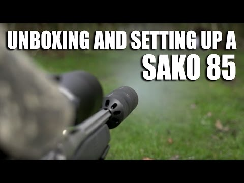 Unboxing and setting up a Sako 85