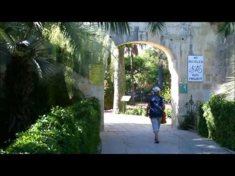 San Anton Gardens, Attard, Malta video tour