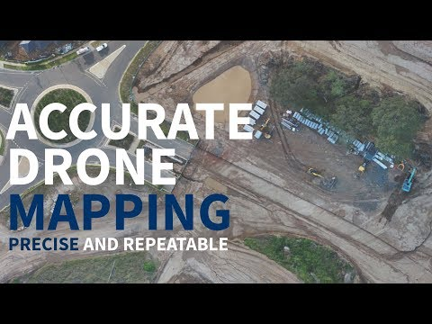 Survey accurate drone mapping services with Hoverscape