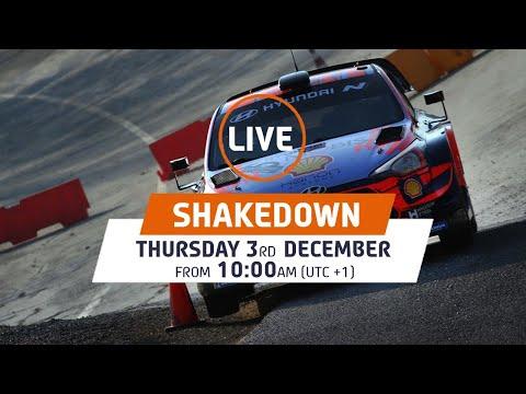 WRC LIVE! Hyundai Monza Circuit Shakedown - ACI Rally Monza 2020