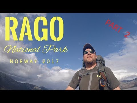 Rago National Park Norway Day 2 - The ultimate 2 day backpacking overnight experience