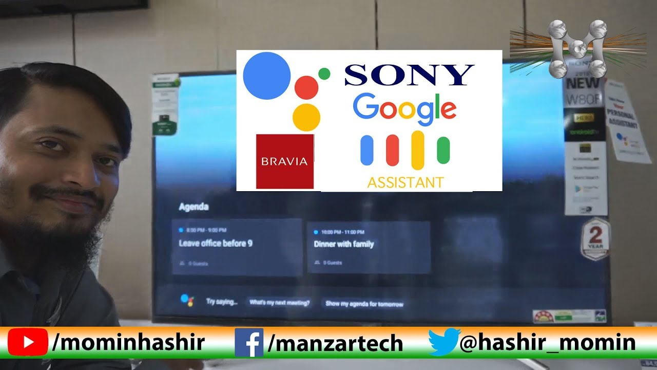 Google Assistant in Sony BRAVIA LED TV (Android TV)