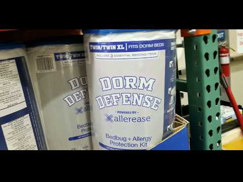 Costco! DORM DEFENSE – Bedbug + Allergy Bed Protection Kit (Twin XL size)! $29!!!