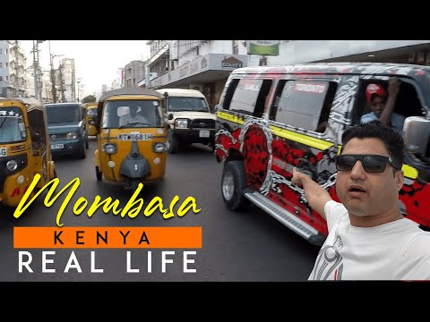 Mombasa Kenya Real Life (Markets, Food, People)