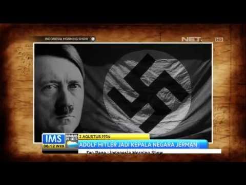 Todays History 2 Agusutus 1934 : Adolf Hitler Jadi Kepala Negara Jerman