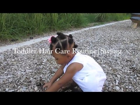 """Toddler Natural Hair Care