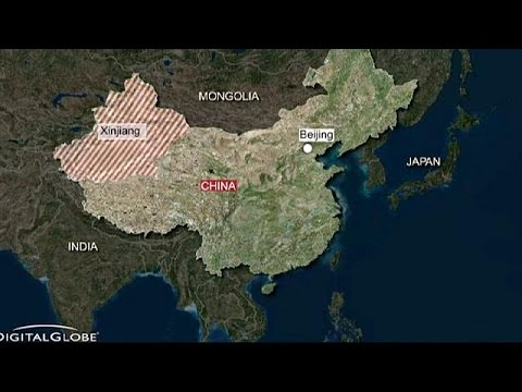 Deadly attack on market stalls in China's Xinjiang region