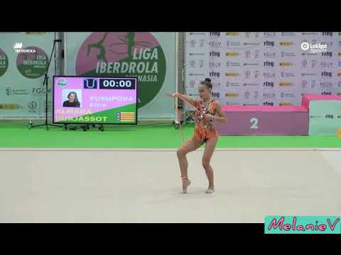 EMA YUSUPOVA - CUERDA ( CLUB ALMARA BURJASSOT ) ( FINAL LIGA IBERDROLA 2019 )