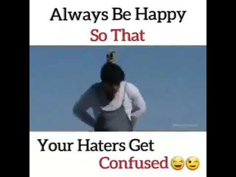 Hate Haters Be Happy New Whatsapp Status Haters Confused