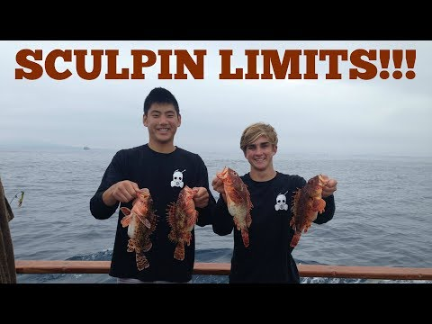Sculpin Fishing At The 150 Feat. Baker Baits (LIMITS!!!)