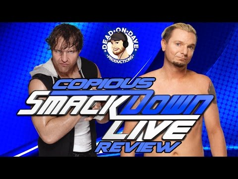 WWE SmackdownLive 12/6/16 REVIEW! Ellsworth is Awful, Bliss in Yoga Pants & Not Much Wrestling!