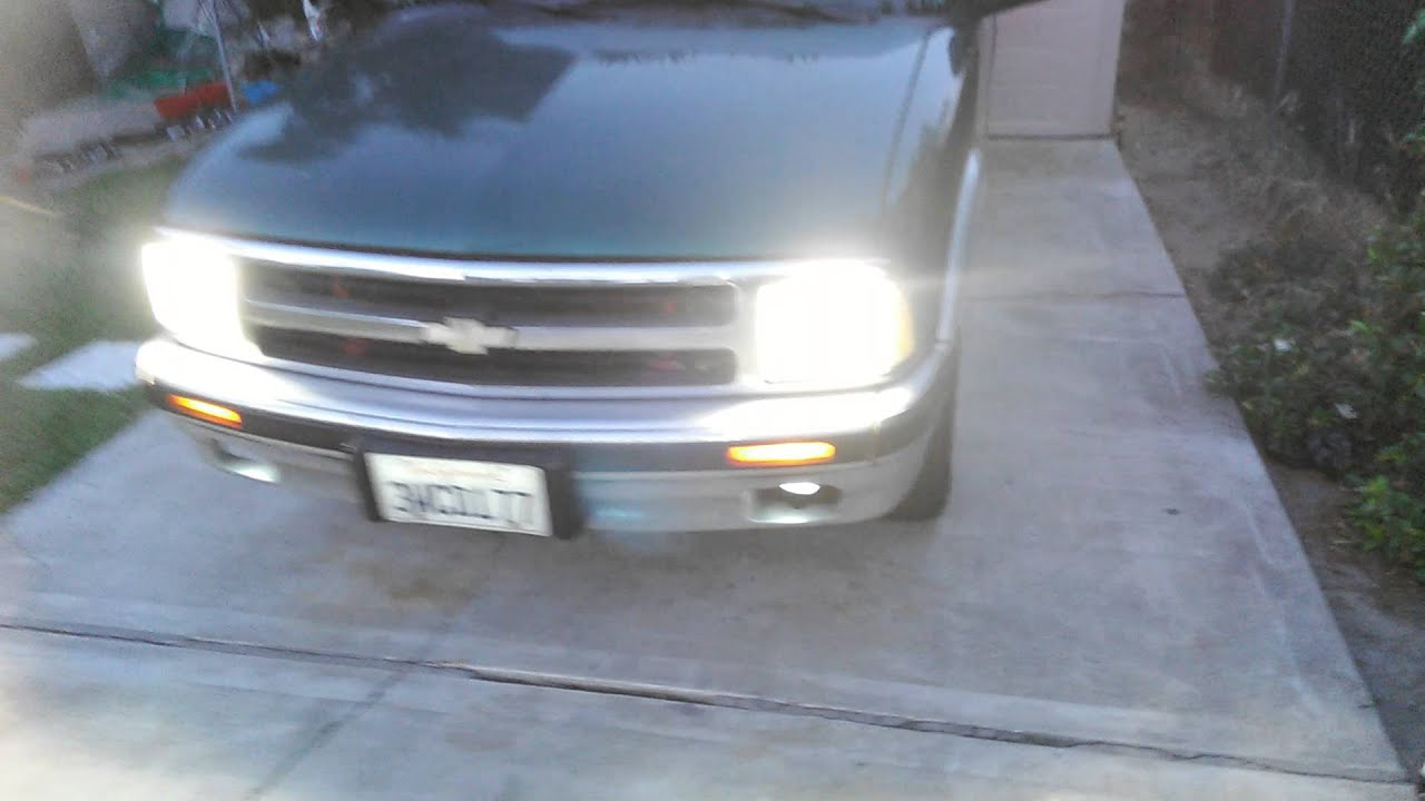 1997 S10 Blazer With Hid Headlights