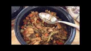 Prepper's First Solar Oven Adventure! :) Chicken Curry Stew! :)