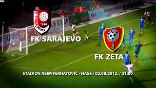 F.K. SARAJEVO F.K.ZETA KVALIFIKACIJE ZA UEFA EUROPE LEAGUE TELEMACH Thumbnail