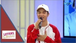 "Sam Mangubat promotes ""I Am Sam"" Concert (NET25 LETTERS AND MUSIC)p"