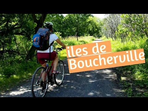 PARC NATIONAL DES ÎLES DE BOUCHERVILLE en vélo [ Vlog ]