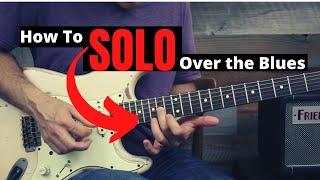 كيفية بسهولة منفردا على التقدم البلوز الغيتار الدرس - خلق لذيذ البلوز روك يلعق