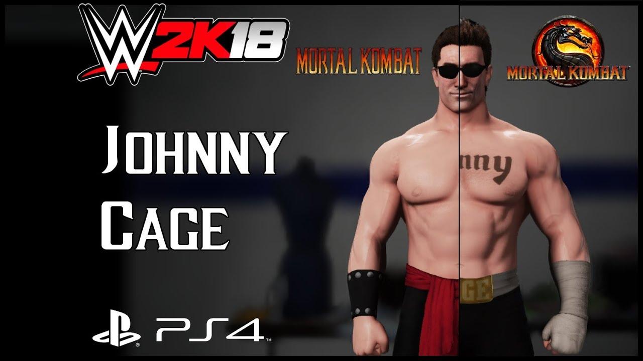 Liu Kang Tattoo: Johnny Cage [Mortal Kombat] CAW + Knockout