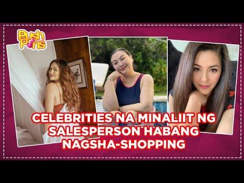 Celebrities na minaliit ng salesperson habang nagsha-shopping | Push Pins