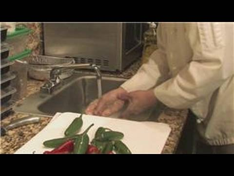Save Cooking Techniques : How to Wash Hot Peppers Off Your Hands Images
