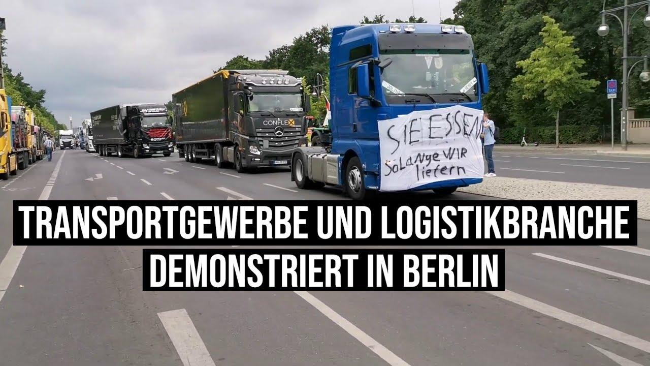 19.06.2020 Geiz war geil. Rettet den Klein- und Mittelstand Transportgewerbe Logistikbranche Berlin