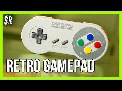 8Bitdo SFC30 Retro Gamepad | SNES controller for iPhone | Review