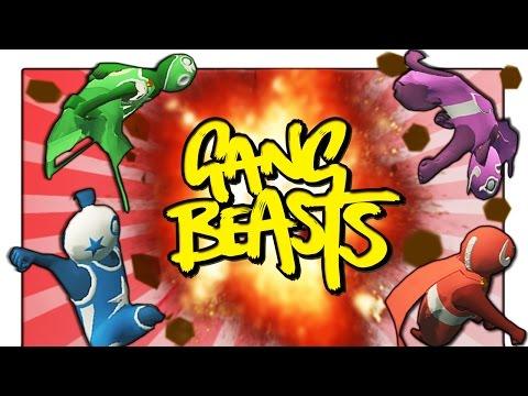 Umhang GLITCHES! Wrestler Helden EDITION! - Gang Beasts